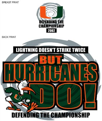 The Canes....