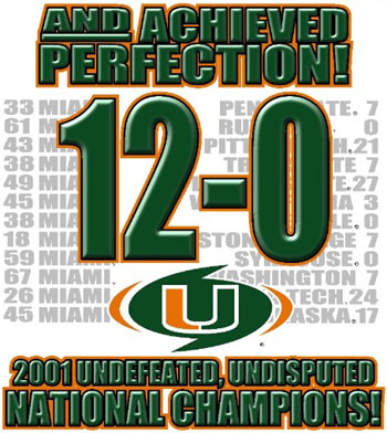 Canes 2001